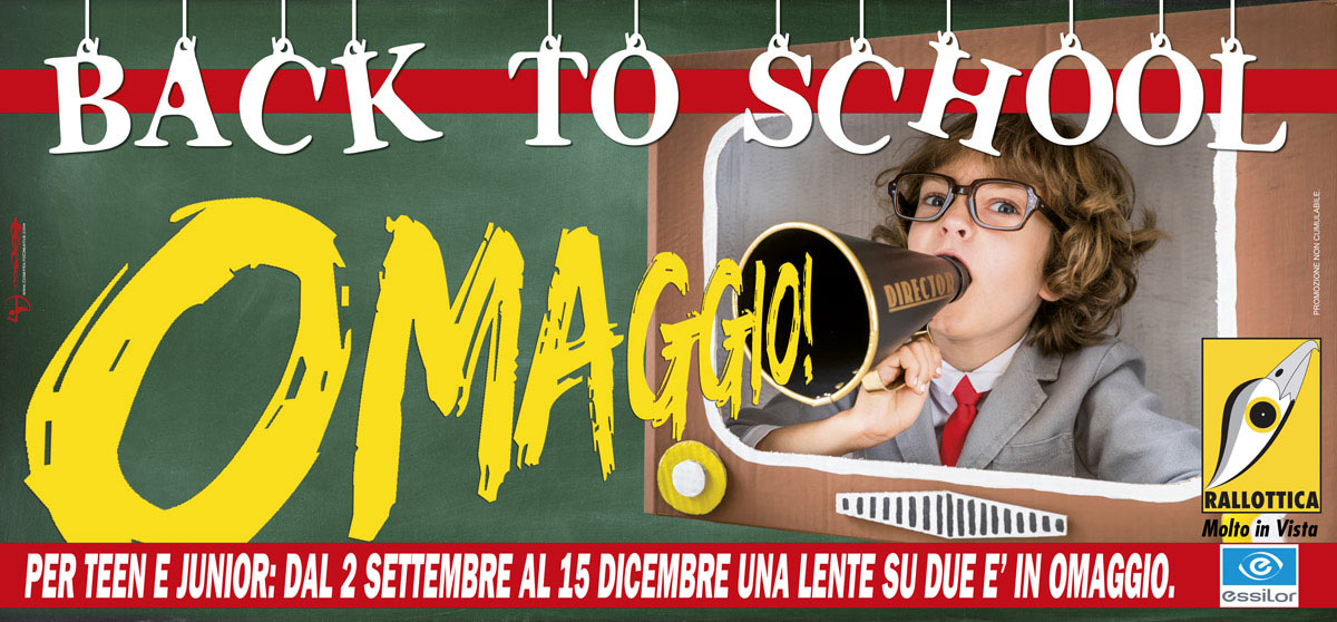 "Campagna ""Back to school!"""